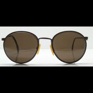 1f7055c5c3c Fratelli Lozza Accessories - Vinage Fratelli Lozza Tortoise Round Sunglasses